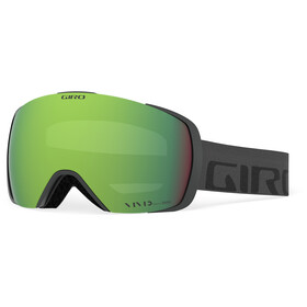 Giro Contact Gafas, grey/vivid emerald/vivid infrared